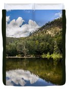 River Reflections I Duvet Cover by Marco Oliveira