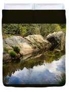 River Reflections IIi Duvet Cover by Marco Oliveira