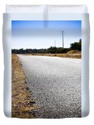Road Edge Duvet Cover by Tim Hester