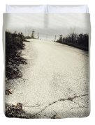 Road Less Traveled Duvet Cover by Margie Hurwich