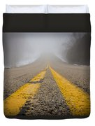 Road To Nowhere Duvet Cover by Bill Pevlor