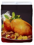 Roast Turkey Duvet Cover by The Irish Image Collection