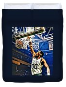 Robert Parish  Duvet Cover by Florian Rodarte