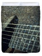 Rock Guitar Duvet Cover by Photographic Arts And Design Studio