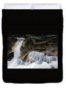 Rocks In Paradise Duvet Cover by Inge Johnsson