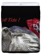 Roll Tide - 14 Time National Champions Duvet Cover by Kathy Clark