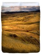 Rolling Hills Duvet Cover by Robert Bales