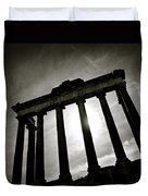 Roman Forum Duvet Cover by Dave Bowman
