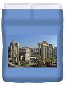 Roman Forum  Duvet Cover by Tony Murtagh