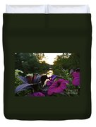 Romantic River View Duvet Cover by Customikes Fun Photography and Film Aka K Mikael Wallin