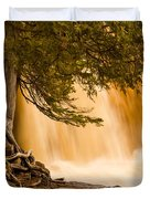 Rooted In Spring Duvet Cover by Mary Amerman