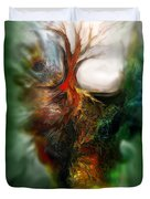 Roots Duvet Cover by Carol Cavalaris