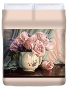 Rose Roses Duvet Cover by Lucie Bilodeau