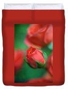 Rosebud  Duvet Cover by Kathy Yates