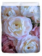 Roses on the Veranda Duvet Cover by Carol Groenen