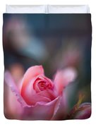 Roses Scented Dream Duvet Cover by Mike Reid