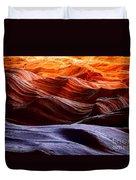 Rough Sea Duvet Cover by Inge Johnsson