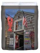 Roy Moore Lobster Company Duvet Cover by Joann Vitali