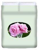 Royal Kate Roses Duvet Cover by Will Borden