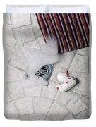 Rubber Duck Duvet Cover by Joana Kruse
