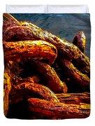 Rust Duvet Cover by Robert Bales
