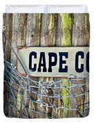 Rustic Cape Cod Duvet Cover by Bill  Wakeley