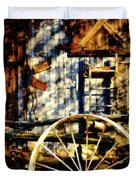 Rustic Decor Duvet Cover by Janine Riley