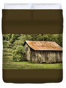 Rustic Duvet Cover by Heather Applegate