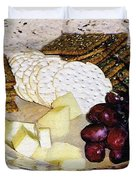 Rustic Repast Duvet Cover by RC DeWinter