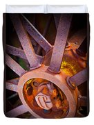 Rusty Spokes Duvet Cover by Inge Johnsson