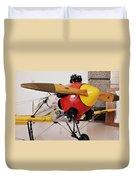 Ryan Pt-22 Recruit Duvet Cover by Michelle Calkins