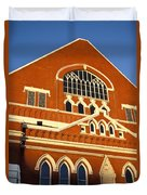 Ryman Auditorium Duvet Cover by Brian Jannsen