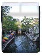 Sa River Walk 2  Duvet Cover by Shawn Marlow