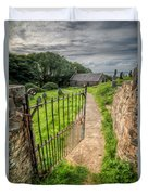 Sacred Path Duvet Cover by Adrian Evans
