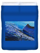 Sail On The Reef Off0082 Duvet Cover by Carey Chen