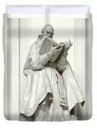 Saint Ambrose - Holy Trinity Cathedral Dresden Duvet Cover by Christine Till