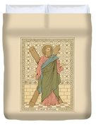 Saint Andrew Duvet Cover by English School