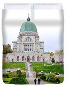 Saint Joseph du Mont Royal Duvet Cover by Valentino Visentini