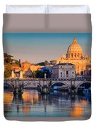 Saint Peters Basilica Duvet Cover by Inge Johnsson