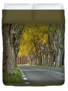 Saint Remy Trees Duvet Cover by Brian Jannsen