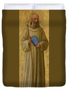 Saint Romuald Duvet Cover by Fra Angelico