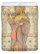 Saint Thomas Duvet Cover by English School