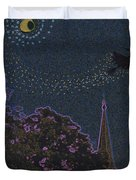 Salem Witch Moon 2 By Jrr Duvet Cover by First Star Art