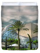 Salvador Dali Museum Duvet Cover by Mal Bray