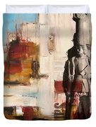 San Diego City Collage 2 Duvet Cover by Corporate Art Task Force