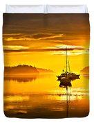 San Juan Sunrise Duvet Cover by Robert Bales