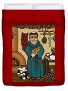 San Pascual Duvet Cover by Victoria De Almeida