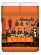 San Pascuals Table Duvet Cover by Victoria De Almeida