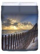 Sand Dunes   Duvet Cover by Debra and Dave Vanderlaan
