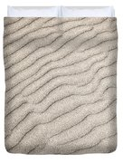 Sand ripples natural abstract Duvet Cover by Elena Elisseeva